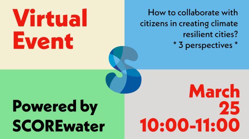 Webinar 25 maart – Hoe citizen science in te zetten in de stad.