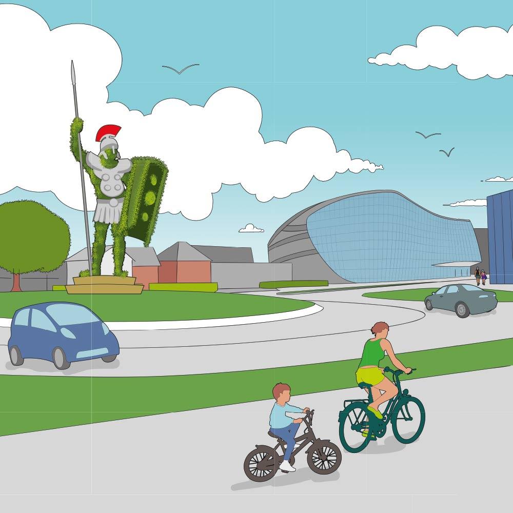 Alphen aan den Rijn: Visie maakt het Stadshart klaar voor de digitale toekomst