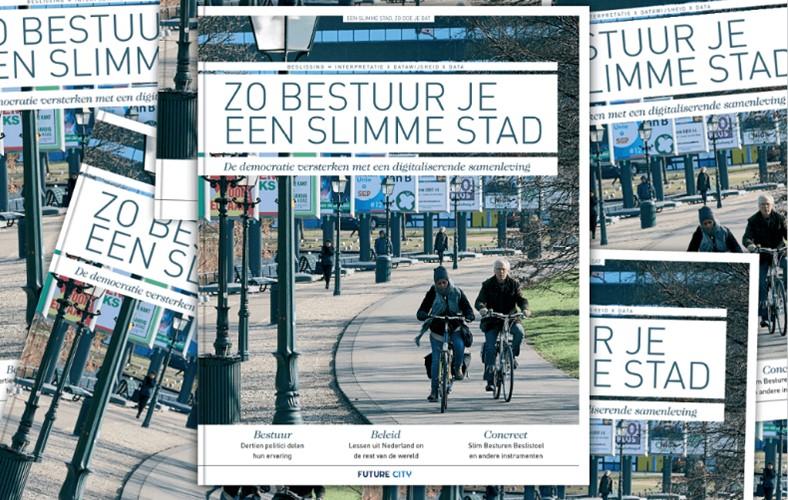 'Zo bestuur je een slimme stad' – Boekencafé Platform Economie & Ruimte