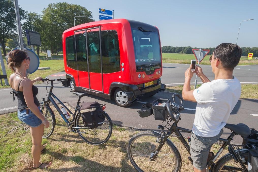 De mobiliteitsrevolutie: zelfrijdend vervoer