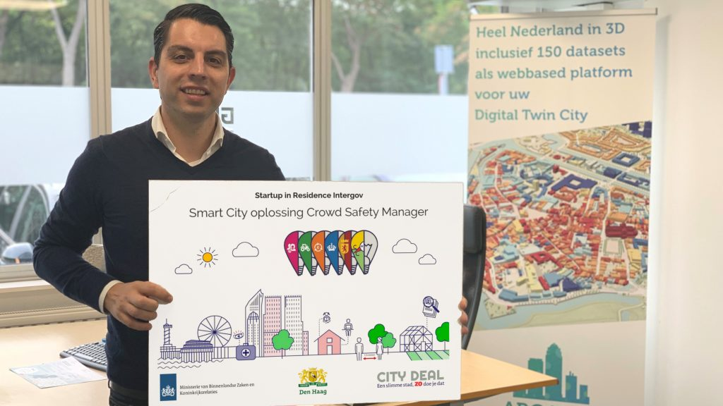 Crowd Safety Manager van Argaleo winnaar innovatiechallenge 'Eenrichtingsstad'