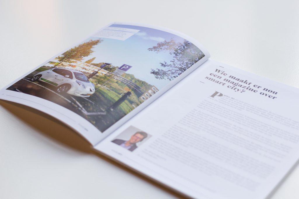 Wie maakt er nou een magazine over smart city?