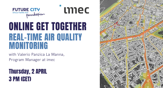 Recap online get-together #3 on air quality with imec