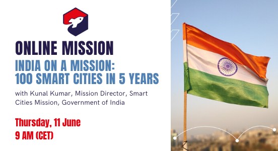 Online Mission 11 June: India on a Mission – 100 Smart Cities in 5 Years