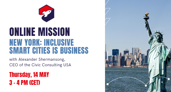 Recap Online Mission 14 May: New York – Inclusive Smart Cities is Business