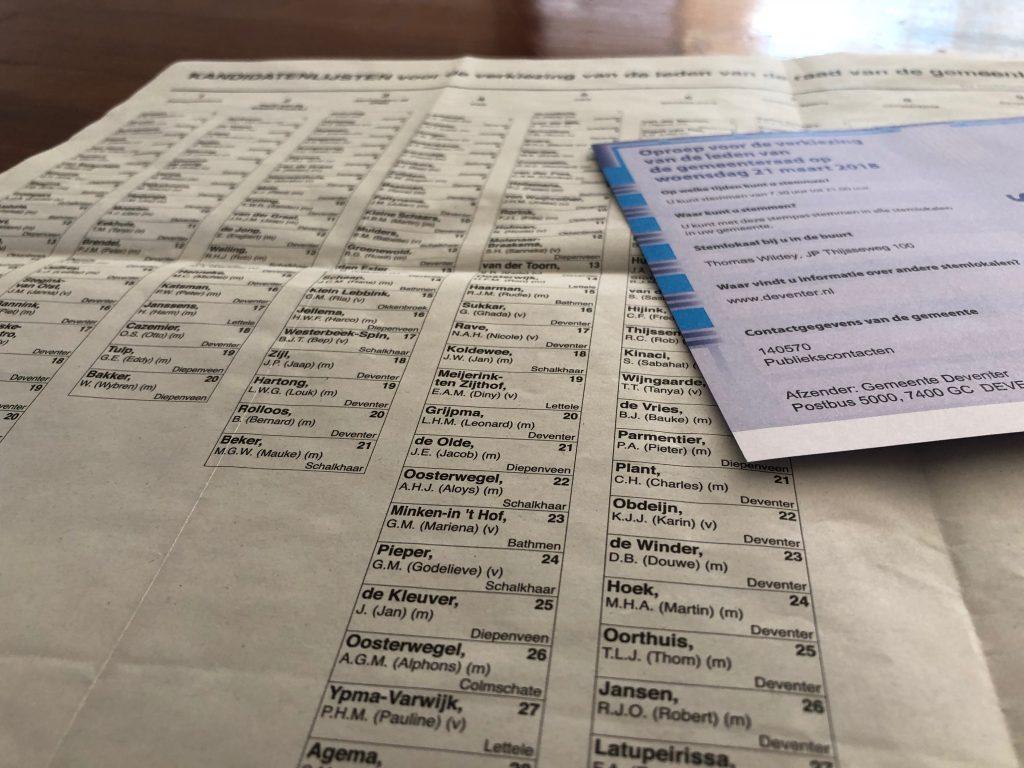 Kies voor tech bij de provinciale verkiezingen