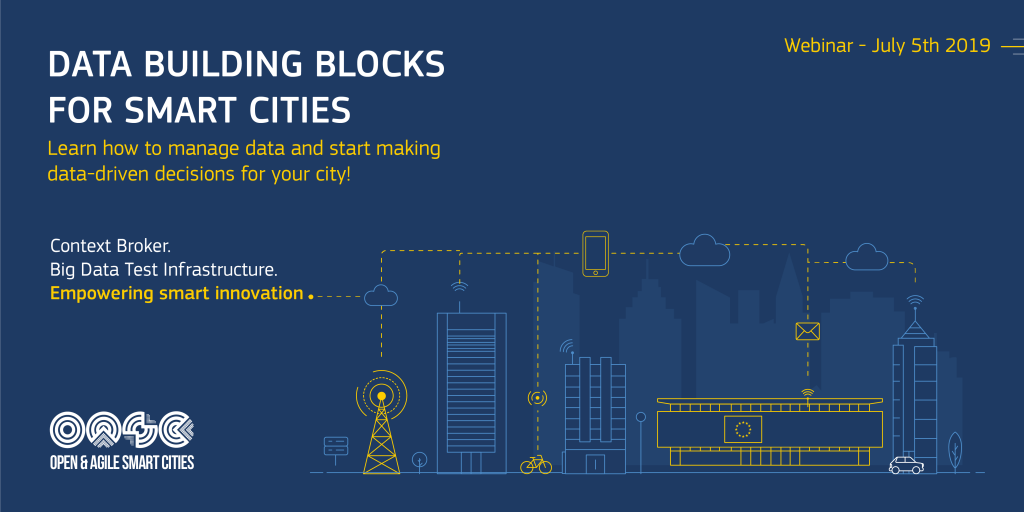 July 5th – webinar: Upcoming funding opportunities for smart cities