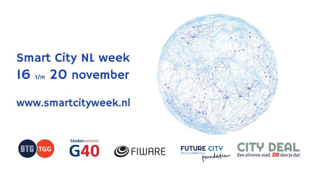 Thuis en toch uit tijdens de Smart City NL Week