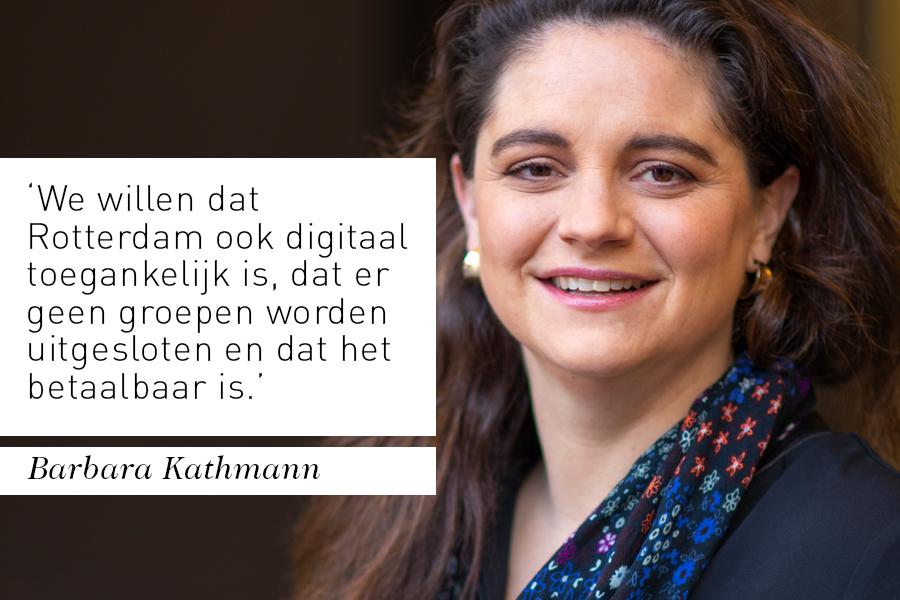 Interview bestuurder Barbara Kathmann