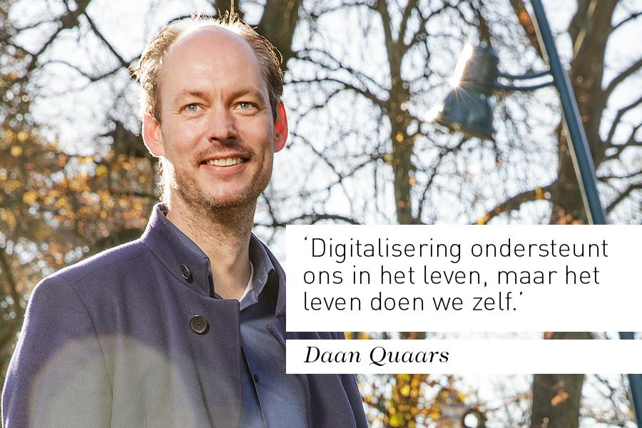 Interview bestuurder Daan Quaars