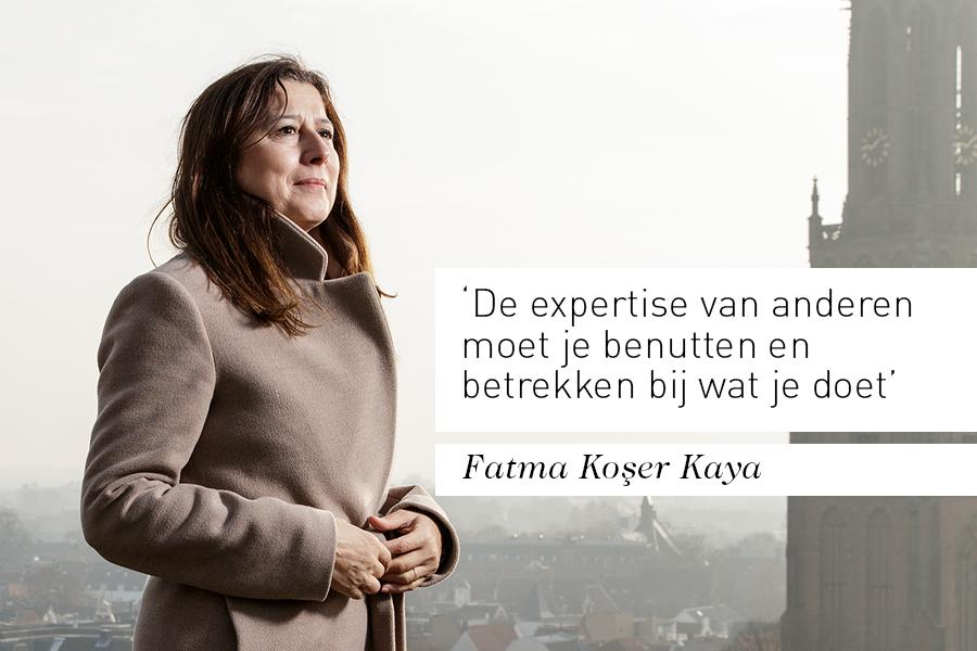 Interview bestuurder Fatma Koșer Kaya