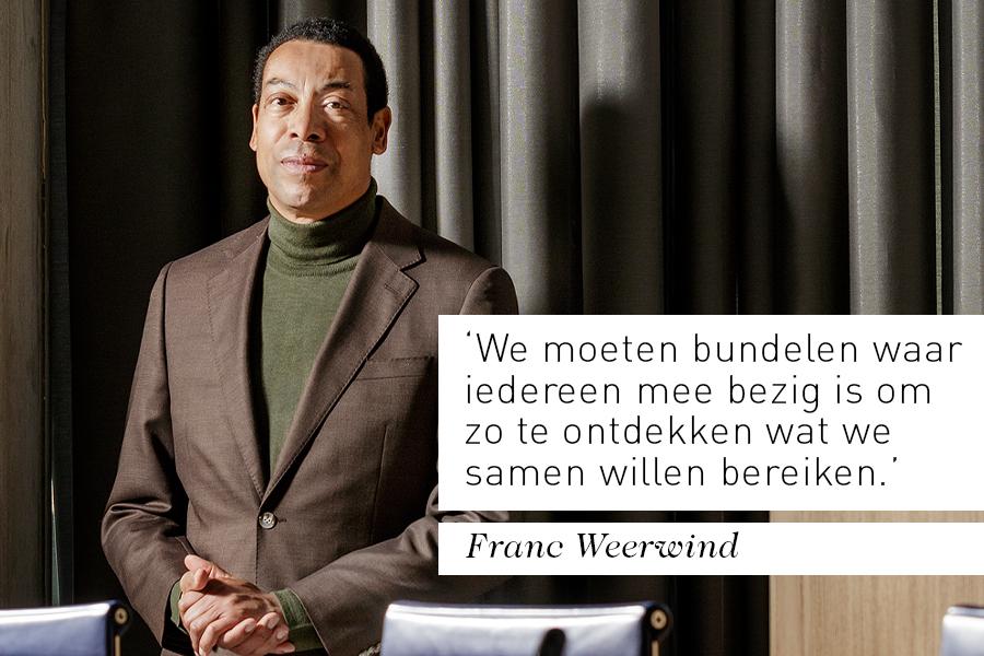Interview bestuurder Franc Weerwind