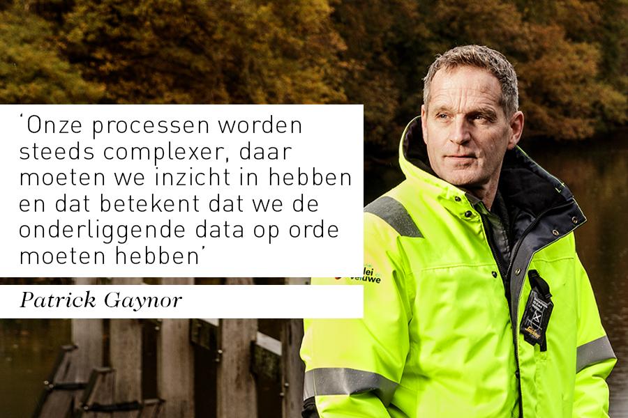 Interview bestuurder Patrick Gaynor