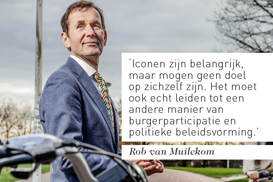 Interview bestuurder Rob van Muilekom