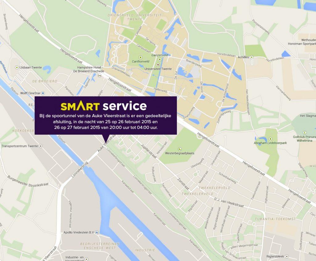 Enschede bespaart miljoenen met app